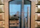 Наличники в арочном окне